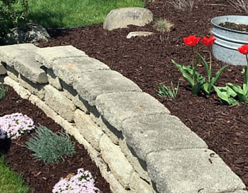 Mulch and Rock Installation Services Wisconsin